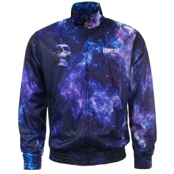 100% Hardcore Training Jacket Spaced Blue