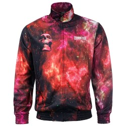 100% Hardcore Training Jacket Spaced Red
