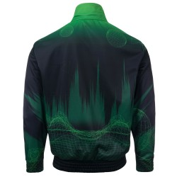 100% Hardcore Training Jacket Vector Green
