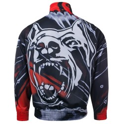 100% Hardcore Training Jacket * Atom Dog Red