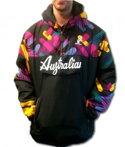 AUSTRALIAN GABBER WINTER JACKET ANORAK HARDCOURT 060