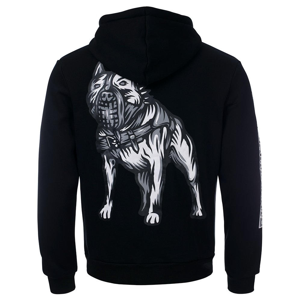 100% Hardcore Hooded Zipper Stand Up