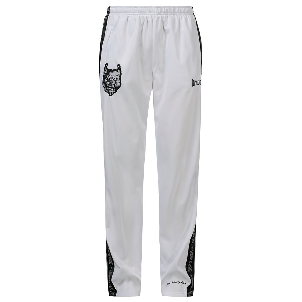 100% Hardcore Training Pants Branded White